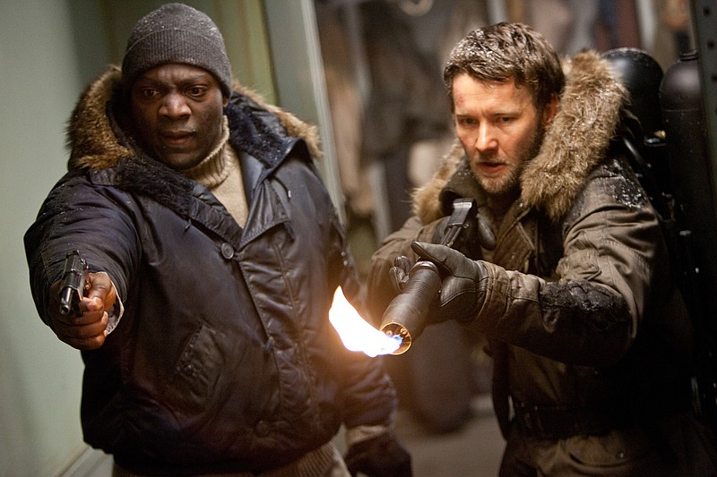 Adewale Akinnuoye-Agbaje and Joel Edgerton insist they are still human in