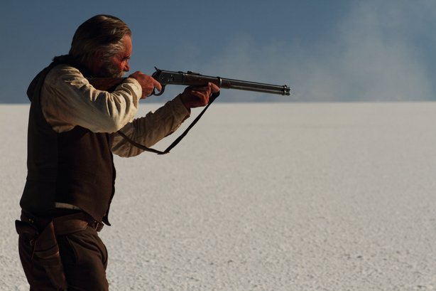 "Sam Shepard plays Butch Cassidy as an old man in ""Blackthorn."""