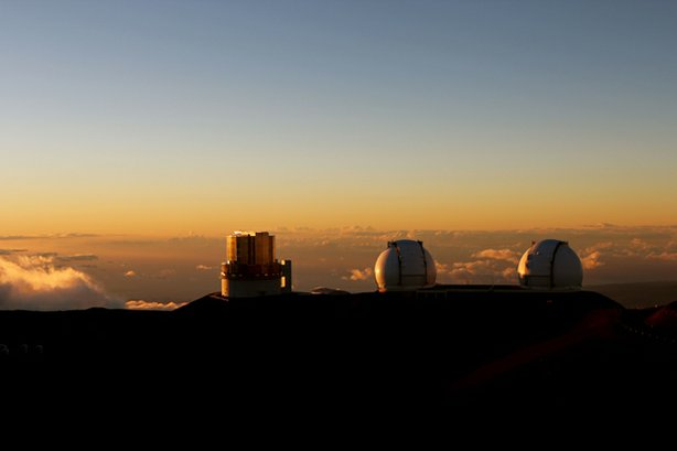"View of <a href=""http://keckobservatory.org/about/the_observatory"">W. M. Keck..."