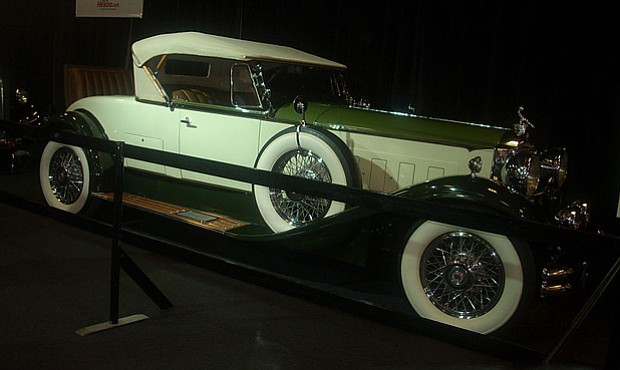 1930 Packard Deluxe Eight, photographed in Montreal, Quebec, Canada at the 20...