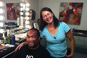 Behind the Scenes: Make Up Effects