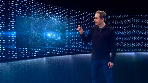 "Physicist and acclaimed author Brian Greene (pictured) returns to NOVA with ""..."
