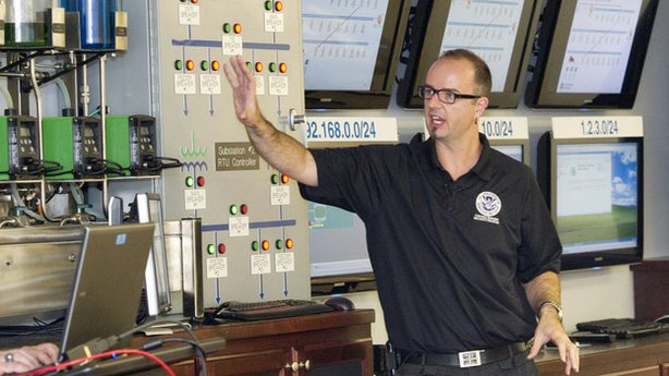 Mark Fabro, industrial control systems cyber emergency response instructor, l...