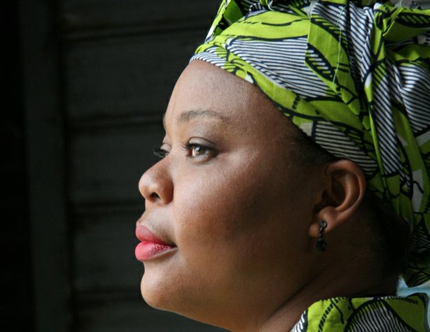 "Leymah Gbowee, featured Liberian activist in ""War Redefined."""