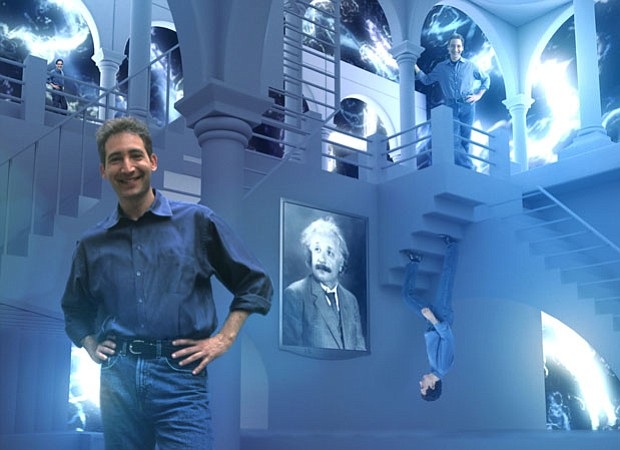 Host Brian Greene appears in one of the many animated scenes created for the ...