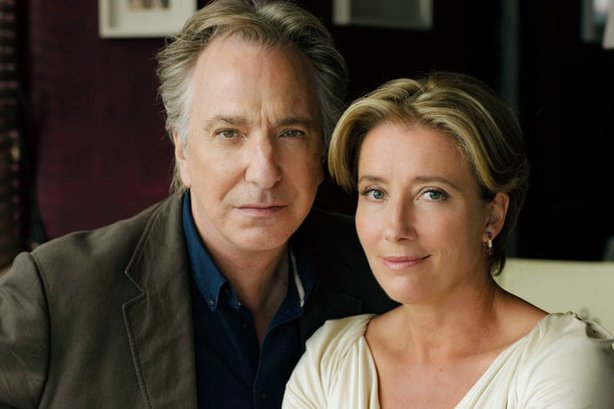 "Alan Rickman and Emma Thompson. ""The Song Of Lunch"" is a dramatization of Christopher Reid's acclaimed narrative poem, starring Alan Rickman and Emma Thompson as a book editor and his former lover who meet for a nostalgic lunch 15 years after their break-up."
