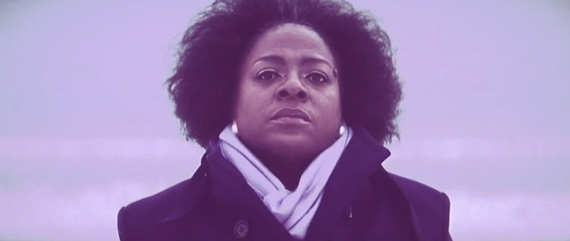 Sharon Jones in her video for