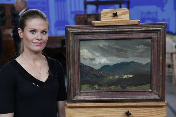 At ANTIQUES ROADSHOW in Atlantic City, New Jersey, appraiser Debra Force spots a circa 1913 oil painting by George Bellows - one of America's most important artists - gifted to the owner's father, a relative of Bellows' wife, Emma. Not the artist's most coveted work, Force still assigns the piece an impressive value of $150,000.