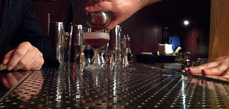 The fine craft of the cocktail is served up by Anthony Schmidt at Noble Exper...