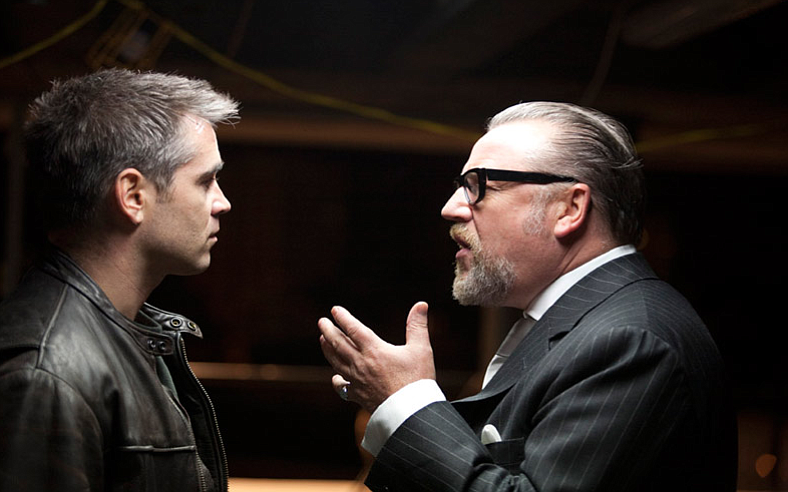 Colin Farrell and Ray Winstone face off in