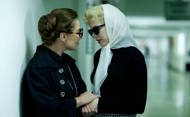 """Zoe Wanamaker and Michelle Williams in """"My Week with Marilyn."""""""
