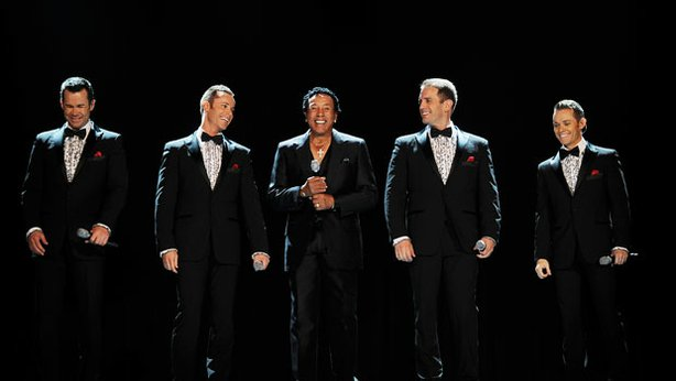 Smokey Robinson (center) presents the ultimate celebration of the Motown soun...