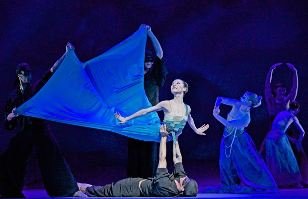 "Yuan Yuan Tan (The Mermaid) in ""The Little Mermaid from San Francisco Ballet."""