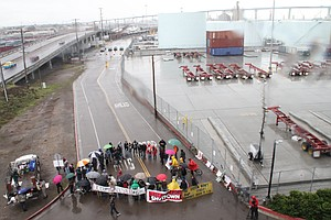 Occupy San Diego Joins Effort To Disrupt West Coast Ports [VIDEO]