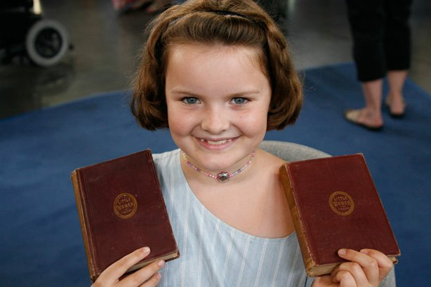 "In ANTIQUES ROADSHOW ""Forever Young,"" this guest brings in an 1869 first edit..."