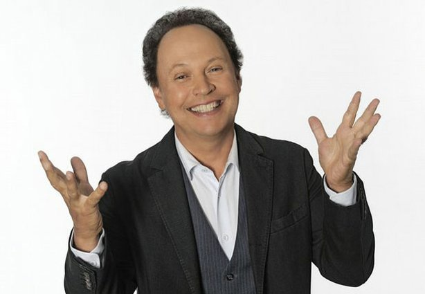 "Comedian Billy Crystal, host of ""Make 'Em Laugh: The Funny Business Of Americ..."