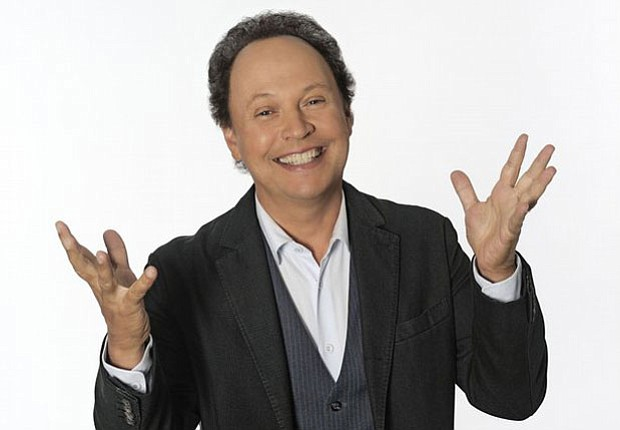 Comedian Billy Crystal, host of
