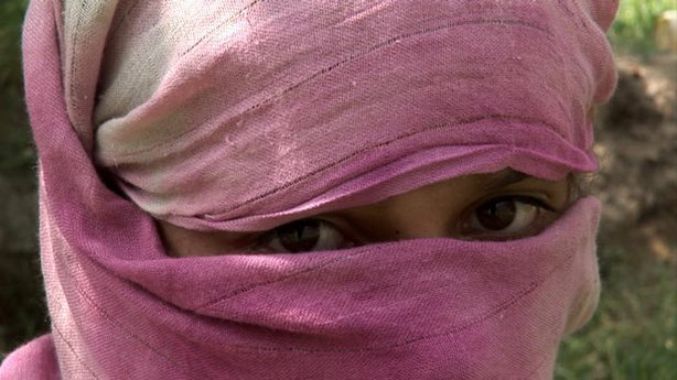 A young girl from Afghanistan. Unexpected victims have been caught in the cro...