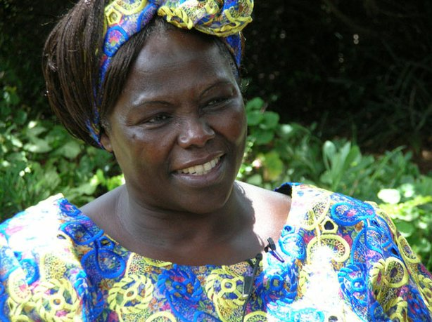 """Taking Root"" follows Nobel Peace Prize laureate Wangari Maathai (pictured) i..."