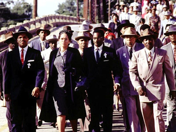 Jeffrey Wright (far left) plays Martin Luther King, Jr. in the HBO show
