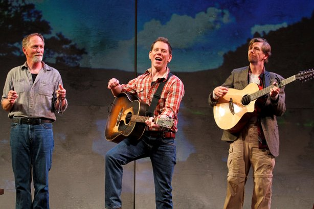 "Cast members from ""A Hammer, A Bell, and A Song to Sing."" From left: Vaughn Armstrong, Dave Crossland and Jim Mooney."