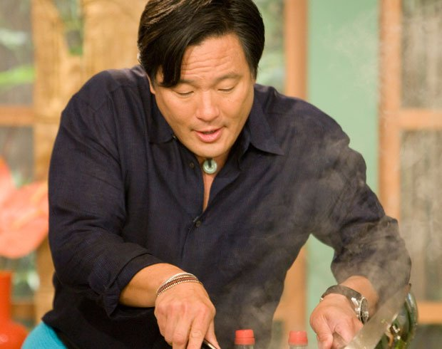 Chef Ming Tsai, host of the television series SIMPLY MING.