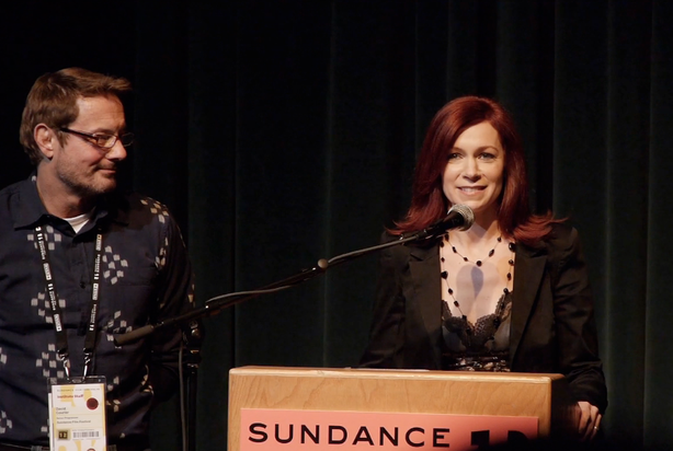 "Carrie Preston at the Sundance premiere of the Daisy 3 Pictures' ""That's What..."
