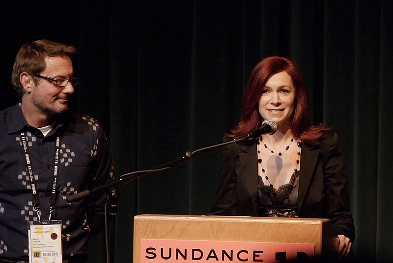 Carrie Preston at the Sundance premiere of the Daisy 3 Pictures'