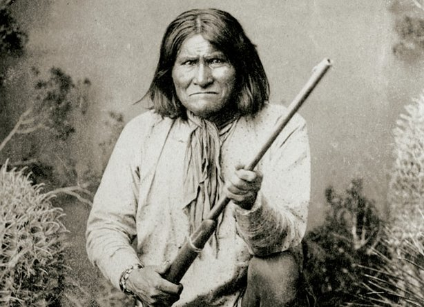An indomitable Chiricahua Apache warrior and medicine man, Geronimo (pictured...