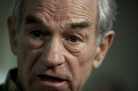 U.S. Rep. Ron Paul, shown at a campaign stop in South Carolina, spoke with NP...