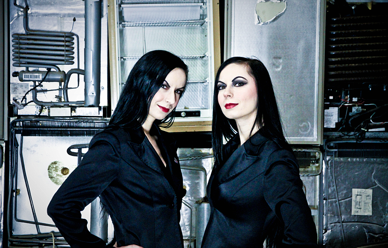 The Twisted Twins themselves, Jen and Sylvia Soska. You'll be hearing more fr...