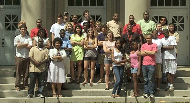 Members of One Mississippi, a student group devoted to bridging social and ra...