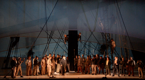 """Moby-Dick"" at the San Diego Opera."