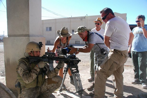 "Behind the scenes on ""Act of Valor."""