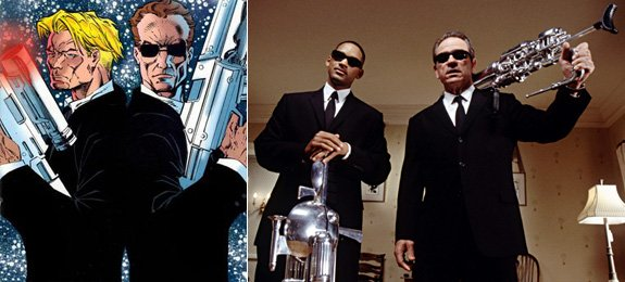 Men in Black is the theme at this year's ConDor. Here is Lowell Cunningham's comic and the film franchise.