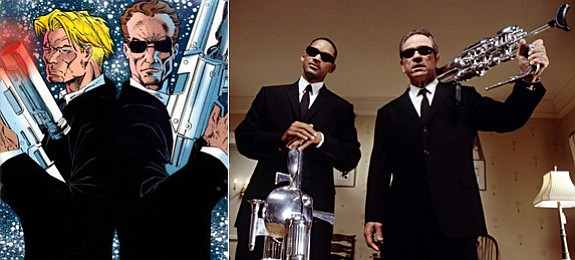 Men in Black is the theme at this year's ConDor. Here is Lowell Cunningham's ...