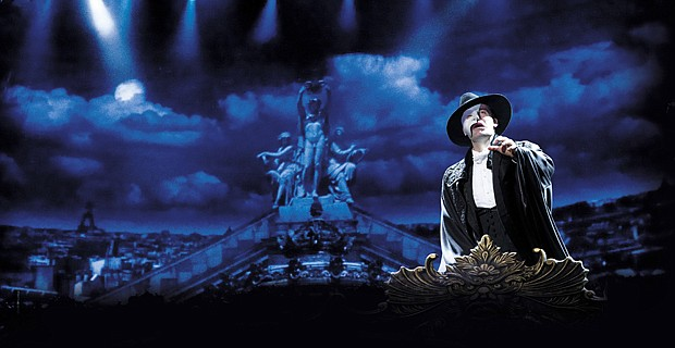 Ramin Karimloo as The Phantom in