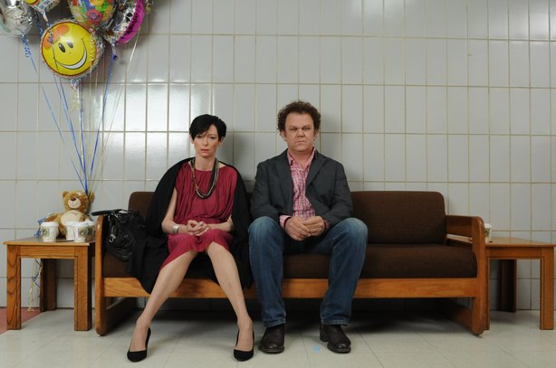 "Tilda Swinton and John C. Reilly star as parents in ""We Need To Talk About Kevin."""