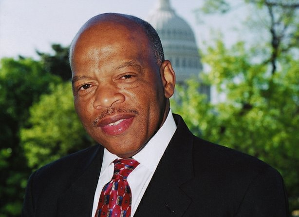 The Honorable John Lewis. The representative of Georgia's Fifth Congressional...