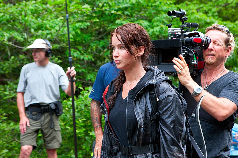 Jennifer Lawrence stars in the film adaptation of Suzanne Collins'