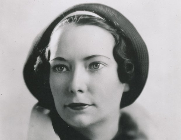 Margaret Mitchell in her early 40s (Macmillan author portrait).