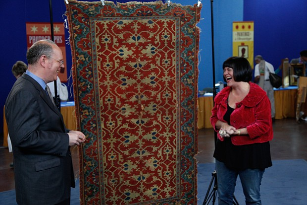 At ANTIQUES ROADSHOW in El Paso, Texas, appraiser James French extols the vir...