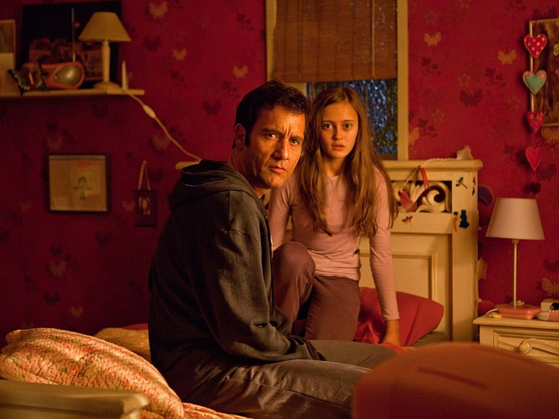 Clive Owen and Ella Purnell star as father and daughter in