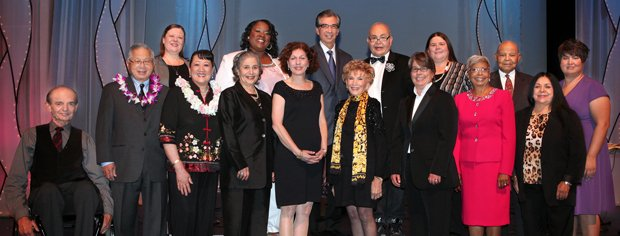 2011 Local Heroes: Bill Bodry, Tom Hom, Kathi Anderson, Robin Tarr, Veverly A...