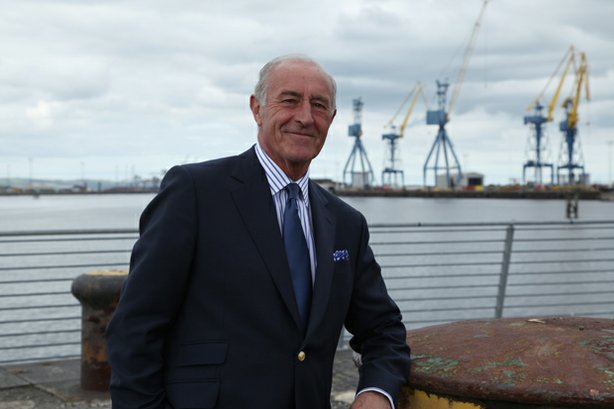 Program host Len Goodman