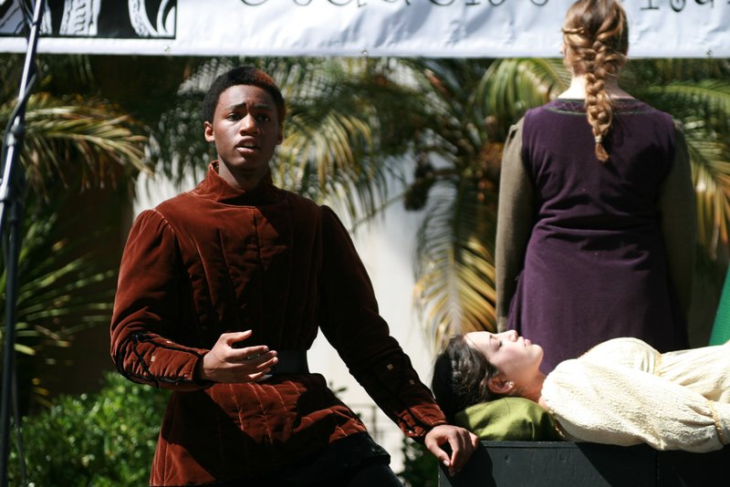 Carlsbad High performed a scene from Shakespeare's