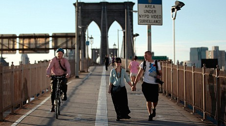 Americans walk less than the citizens of any other industrialized nation, say...