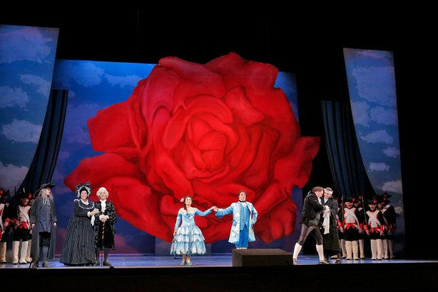"The San Diego Opera's production of ""The Barber of Seville."""