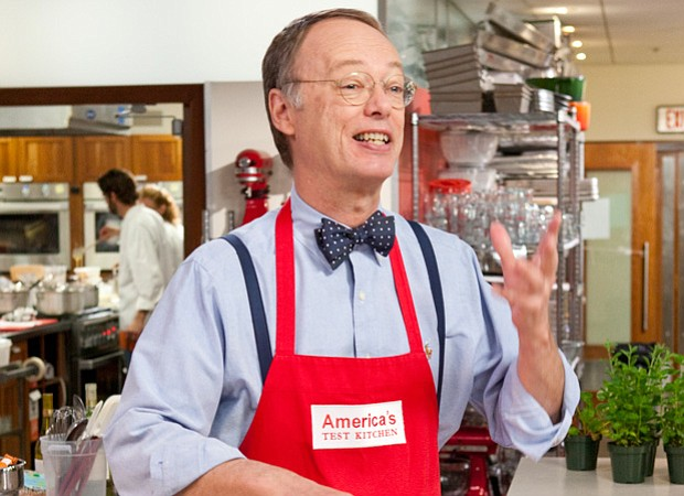 Christopher Kimball, host of AMERICA'S TEST KITCHEN