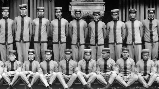 """Under A Jarvis Moon"" documents the clandestine U.S. mission which sent young Hawaiian men (pictured) to occupy tiny, isolated Pacific islands during the early years of World War II."